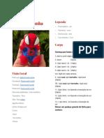 Receita-Mini-Homem-Aranha