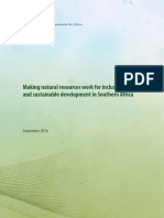 Making Natural Resources Work UNECA-RSO 2014