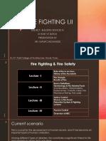 FIRE FIGHTING  I.II 2020