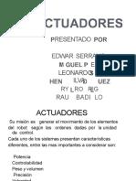 [PDF] ACTUADORES