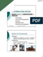 Mec Solos_Aula 12 e 13_Compactação dos Solos