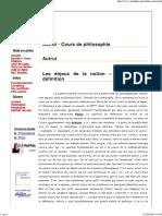 Autrui - Cours de philosophie - Ma Philo .net