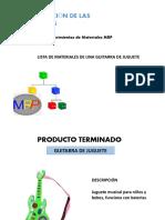 EJEMPLO LISTA DE MATERIALES MRP.pptx
