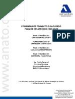 MARÍA CAMILA CARRASCAL - Comentarios ANATO Plan de Desarrollo - Pilar 2 3 4 y 5