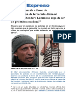 EXPRESO Antauro Humala a favor de excarcelación de terrorista Abimael Guzmán.pdf