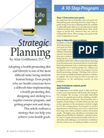 Strategic Planning for Health