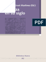 Martínez, Francisco José (Ed). Spinoza en Su Siglo. 2012