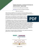 CONFIABILIDADE HUMANA APLIACADA A  CULTURA DE SEGUANÇA NA GESTÃO DE RISCOS NBRIS0 55000