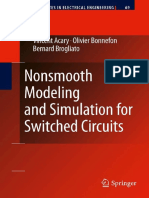 Nonsmooth Modeling and Simulation for Switched Circuits