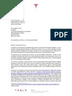Tesla Riverbend Report Cover Letter Final Ver w Signature 5-29-20