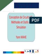Conception de Circuits HF