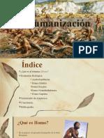 La Humanización.