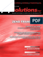 Zend Framework PHP 01 2011