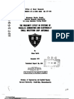 Proximity Effects in Multiloop Antennas