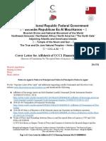 MACN-A034_Cover Letter for Affidavit of UCC1 Financing Statement