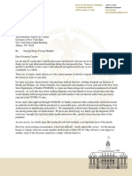 Borough President James Oddo Letter