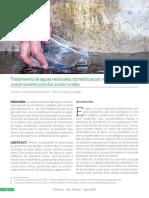 Tratamiento de aguas residuales domésticas por métodos naturales