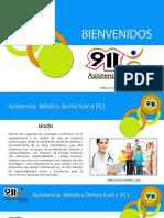 PORTAFOLIO DE SERVICIOS 911 AMD NUEVO 2020