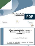 Palestra Papel Auditorias Gov Empresas