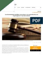 ALVARADO (2018) Las medidas correctivas y contradicción con non bis in idem_ _ Prometheo