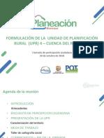 01. Jornada 1 - UPR 4 - Cuenca del río Pance