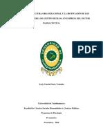 RELACIÓN DE LA CULTURA ORGANIZACIONAL Y LA MOTIVACIÓN