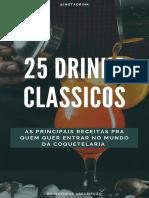 25 Drinks Clássicos