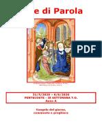 Sete di Parola - Pentecoste e IX Settimana T.O. - A.doc
