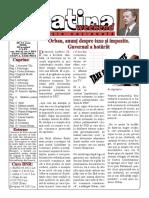 Datina - Ediție Națională -30-31.05.2020 - prima pagină