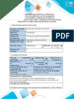 Fase 3  -Guía de actividades y Rúbrica de evaluación - Crear documento sobre radiología intervencionista diagnostica en SNC y cardiologia.doc