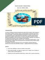 PROYECTO CANCIONES PATRIAS JARDIN