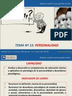 15 - PERSONALIDAD