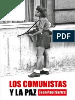 207.j p.sartre Los Comunistas y La Paz
