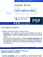 Aula de nº -01 Estudar para OAB - Direito Civil - Direito Civil Constitucional