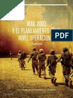 IRAK 2003 Y EL PLANEAMIENTO EN EL NIVEL OPERACIONAL