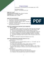 PROIECT DIDACTIC ADAPTAT Clasa a III - a