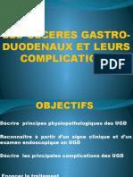 LES ULCERES GASTRO-DUODENAUX ET LEURS COMPLICATIONS.pptx