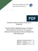 Alternativa seleccionada Cristobal Troncoso