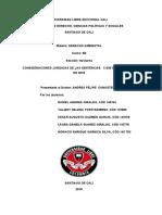 El estudio jurídico que se realizará tendrá como objeto SENTENCIAS   C-035 DE 2016 - SU 095 DE 2018.