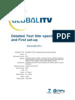 GLOBALITV-D5.2-TestSiteSpecificationAndFirstSetUp
