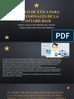 CODIGO DE ÉTICA PARA PROFESIONALES DE LA CONTABILIDAD