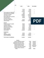 Ejercicio de Fuentes y Usos de fondos