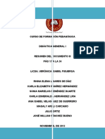 Resumen - Reforma Educativa Documento III -Plan Decenal
