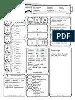 Dex Character Sheet