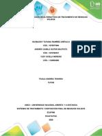 Etapa 3 - Selección de alternativas de tratamiento de residuos sólidos.