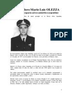 Vicecomodoro Mario Luis OLEZZA biografia