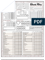 HoT DnD 3.5 Charcter Sheet Nameless World