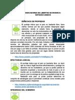 INDICADORES DE LIBERTAD ECONOMICA