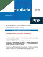 Informe epidemiológico 29-05