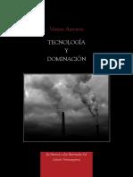 Varios autores - Tecnologia y dominación